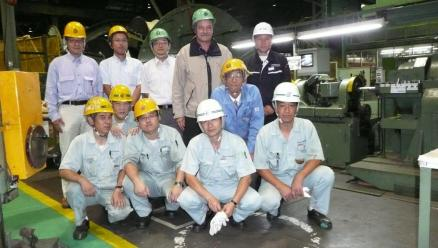 Hitaka worksite in Japan, Hitachi-Cable and its sub-contractor J-Power Systems (JPS)