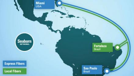 Seaborn Networks' Marine Route Surveys are Underway for US-­Brazil Submarine Cable Project