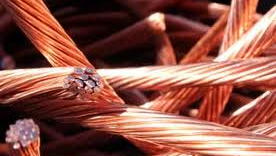 Chinese Copper Wire Prices Fall 0.7%
