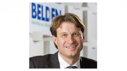 Belden Inc. appointed Roel Vestjens to president of the company's Asia Pacific operations