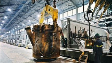 Rio Tinto Alcan's Alma smelter in Quebec