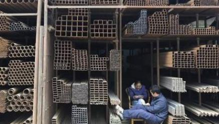 China Steel Output Hits Record High