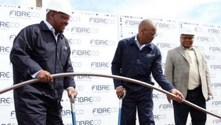 FibreCo's long-distance fibre optic network